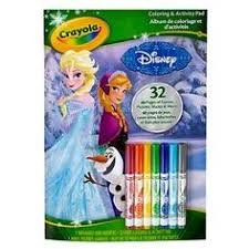 CrayolaR Frozen Coloring And Activity Pad 32pgs 7 Mini Markers