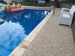 100 Ccs Decks Expert Outdoor Pool Deck With Epoxy Bonded Stone CCS MN