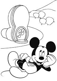 coloriage le maison de mickey 6 coloriage a imprimer