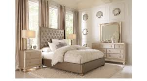paris gray 7 pc queen bedroom upholstered contemporary
