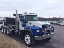 100 Roll Off Truck USED 1999 MACK RD688S ROLLOFF TRUCK FOR SALE 9516