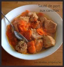 cuisiner un sauté de porc sauté de porc carottes express cookéo les recettes sympatoches
