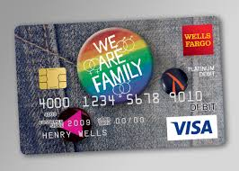 Wells Fargo LGBT Debit Card  Urso Chappell Creative