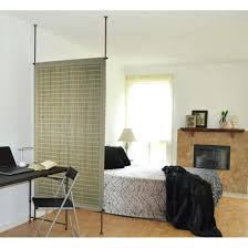 Floor To Ceiling Tension Pole Room Divider by Ceiling Room Divider Curtains Slanted Dividers Mounted Sliding