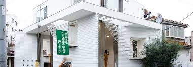 100 Apartment In Yokohama Shared Space Makes These Four Apartments Seem Much Larger