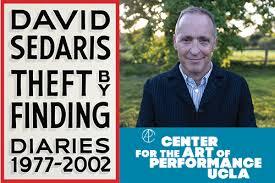 David Sedaris Theft By Finding Diaries 1977 2002