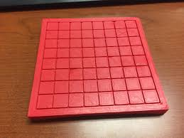 3D Printed 9x9 Go Board