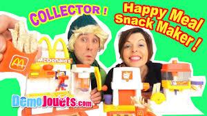 cuisine mcdonald jouet mega mcdonalds meal snack maker set special fry