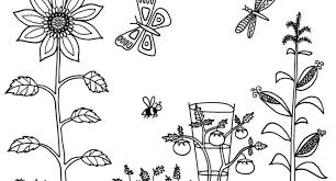Garden Scene Coloring Pages 1000 Images About Color Me On Pinterest