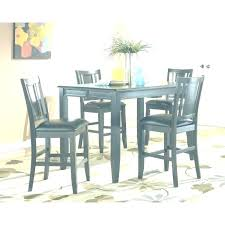Pub Style Kitchen Table 6 Chairs Dining Room Sets