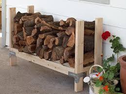 Cord Wood Storage Rack Plans by Best 25 Firewood Rack Ideas On Pinterest Fire Wood Wood Rack