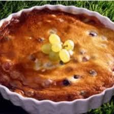 dessert aux raisins frais recette clafoutis aux raisins