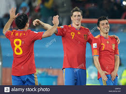 100 Torres Villa David R Of Spain Celebrates With Xavi L And Fernando