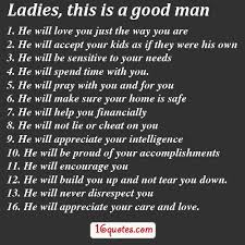 A Good Man Quotes And Sayings
