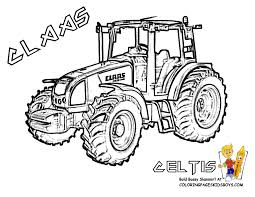 Dessins Gratuits à Colorier Coloriage Tracteur à Imprimer