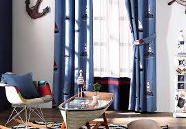 segelschiff design schattierung vorhang blackout vorhänge für wohnzimmer jungen schlafzimmer moderne baumwolle bettwäsche verdunkelungsvorhang