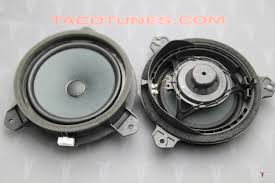 Toyota Tacoma Double Cab Audio Stereo Speaker Subwoofer Upgrade