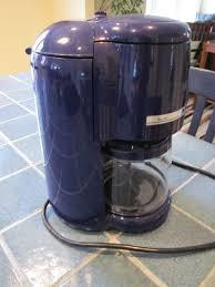 Cobalt Blue Kitchenaid Coffee Maker Kitchen Ideas