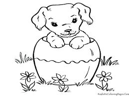 Free Printable Coloring Pages Dogs And Cats Of Realistic Page Dog Bone Good On Download