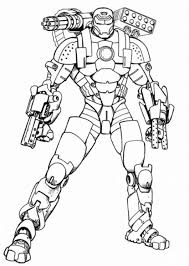 Coolest Iron Man Coloring Pages To Print Out
