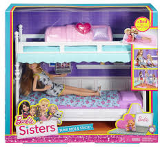 Bunk Beds Okc by Barbie Sisters Bunk Bed And Stacie Accessory Set Toys