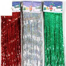 Foil Fringe Curtain Singapore by 50pc L 100 10cm Diy Foil Fringe Door Rain Curtains Party Christmas