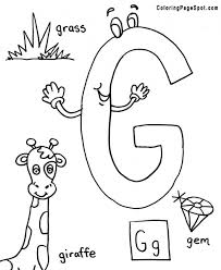 Luxury Letter G Coloring Page 99 With Additional Picture