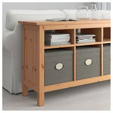 natural console tables ikea hemnes sofa table light brown color