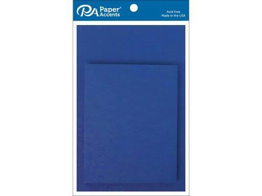"Paper Accents Blank Card and Envelopes - Royal Blue, 10pc, 4 1/4"" x 5 1/2"""