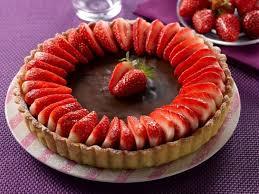 dessert aux fraises facile recette de tarte chocolat fraises la recette facile