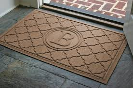 Monogrammed Waterhog Door Mats are Personalized Bombay Door Mats