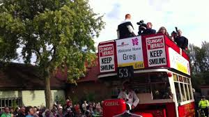 Woburn Halloween Parade by Greg Rutherford Victory Parade In Woburn Sands Youtube