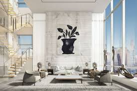 100 Penthouse Story Overthetop 98M Midtown Penthouse Is NYCs Secondpriciest