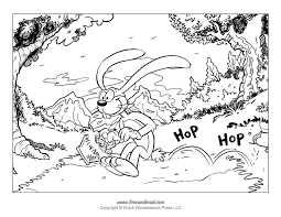 Easter Bunny Coloring Page Free Printable Crossword Pdf Printables