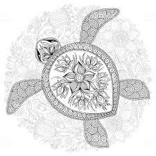 Idée Tatouage Tortue Tribal Modèle De Tattoo 371225