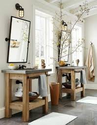 Distressed Cherry French Country Bathroom Vanity by 33 Stunning Rustic Bathroom Vanity Ideas Remodeling Expense