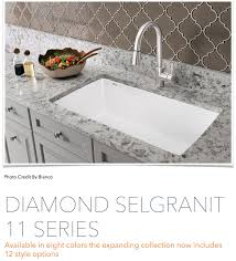 Blanco Silgranit Sinks Colors by 90 Year Old German Engineering Company Blanco Says It All In