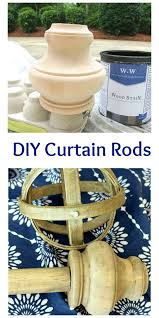 Restoration Hardware Wood Curtain Rods by Diy Curtain Rods 2 Bees In A Pod