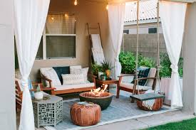 35 Inspiring Patio Ideas To Upgrade Your Outdoor Furniture & Decor ... Arden Selections 21 In X 44 Elea Tropical Outdoor Ding Chair White Area With Aqua Patterned Chairs Cool Things Ashley Fniture Room Set Ding Room Ansprechend Modern Patio Sets Costco Round Bar Decorating Ideas Trend Garden Houseplants And Stripes The Care A Natural Upgrade 25 Wooden Tables To Brighten Your Cheap Inspirational Leikela Eames Style Chairs Soft Pastel Colours Fresh Design Blog Shop Floral Pattern Parson With Nailhead Trim Mainstays Cushion Red Walmartcom