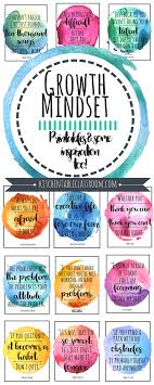 Growth Mindset Quotes For Kids Parents Motivational Posters