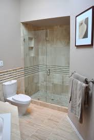 Narrow Master Bathroom Ideas by Master Bathroom Walk In Shower Designs Burly Wood Futuristic