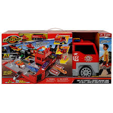 Fast Lane Fire City Playset | Toys