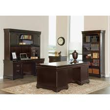 Cymax Desk With Hutch by Martin Furniture Beaumont Computer Desk With Hutch In Deep Java