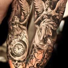 Arm Tattoo Sleeve Tattoos Tatoo Angels Designs Laurent Tatting Body Art Masters