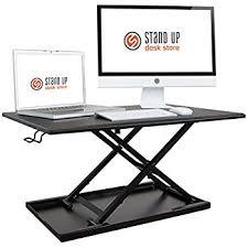 Kangaroo Standing Desk Imac by Amazon Com Stand Up Desk Store Air Rise Standing Desk Converter