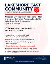 2017 Salvation Army Lakeshore East Schedule | Chicago Real Estate ... Roseburg Salvation Army Installs Four Drop Boxes Outside For After Wants To Organize Joint Rponses Disasters The Disappoints Huffpost Dation Pickup Request Habitat Humanity Of Greenville County Shopping At Thrift Stores In Brooklyn Murray Dunn Gm Is A Nipawin Buick Chevrolet Gmc Dealer And New Kmov St Louis Helps So Many Our C Md On Twitter Addition 2 Disaster Home Please Truck Donated Fort Smith Goodwill Industries Middle Tennessee Inc Services