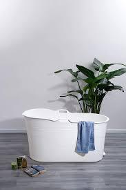 mobile badewanne erwachsene xl und kinder flinq faltbare