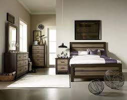 Standard Furniture Oakland 4 Piece Kids Panel Bedroom Set in Dark