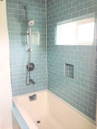 Color For Bathroom Tiles by What Bathroom Tile To Use To Complement Glass Color Tile In Shower