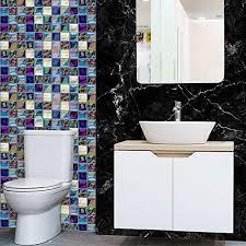 wasserdichte selbstklebende mosaik wand papieraufkleber